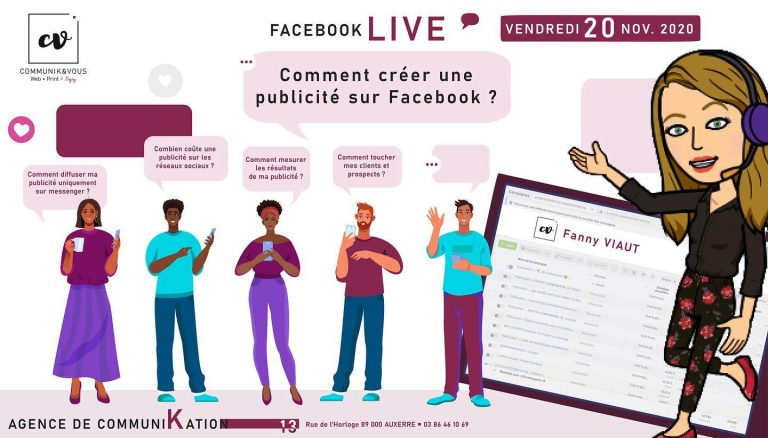 2ème Facebook Live : 20 novembre 2020