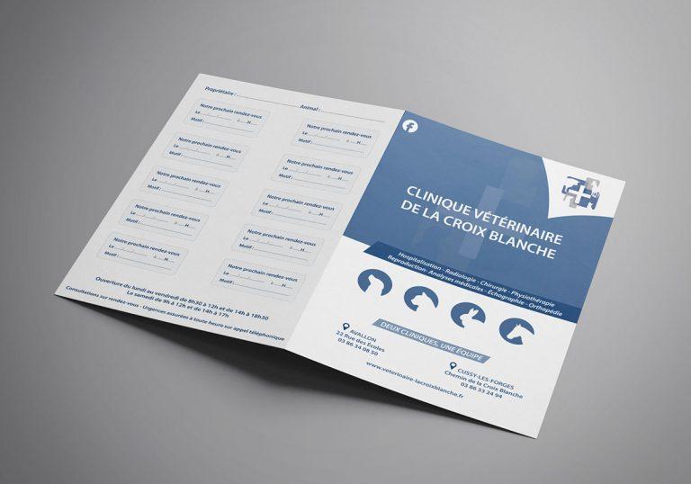 Brochure de la Clinique vétérinaire