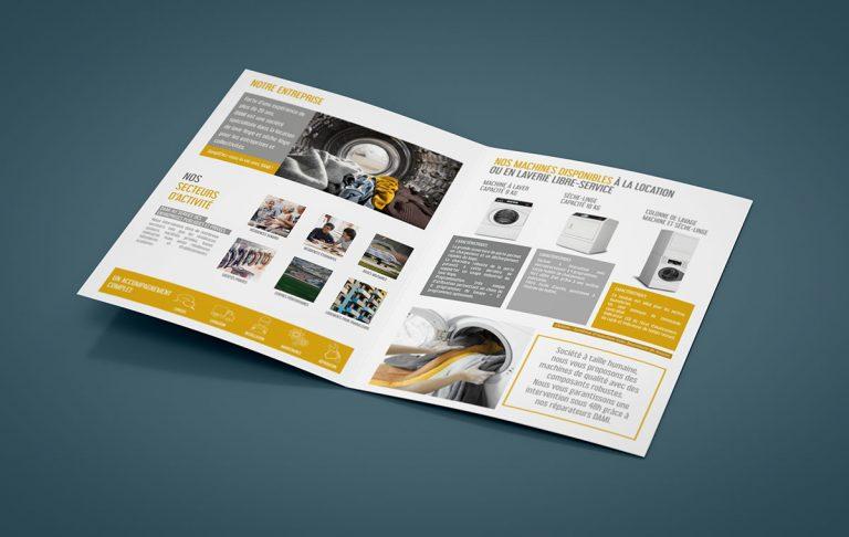 Création graphique Brochure Dami SAS