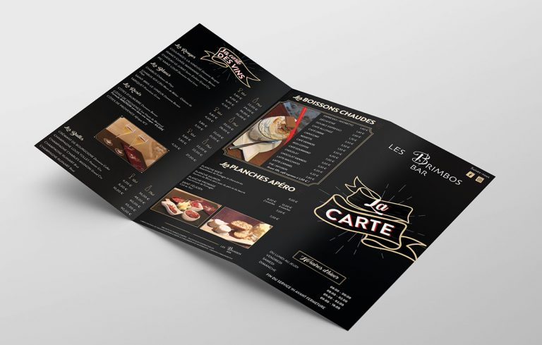 Carte Bar Les Brimbos