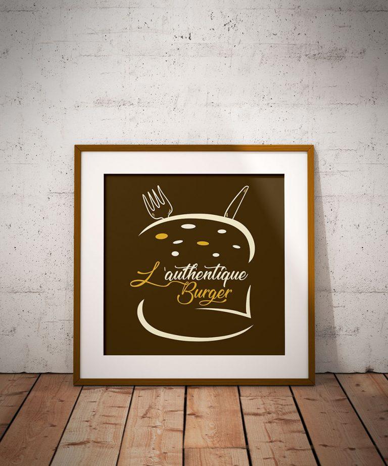 Logo & charte graphique Authentique Burger