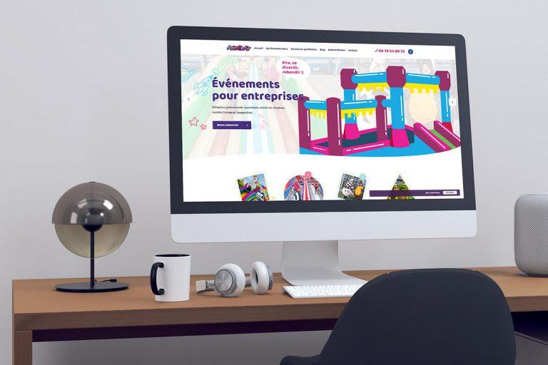 Création du Site internet Anim En Air