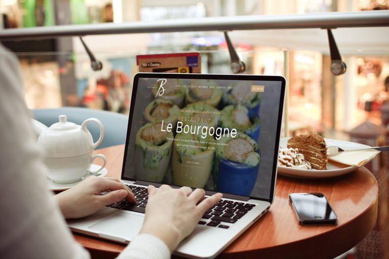 Refonte du site Internet du Restaurant Le Bourgogne