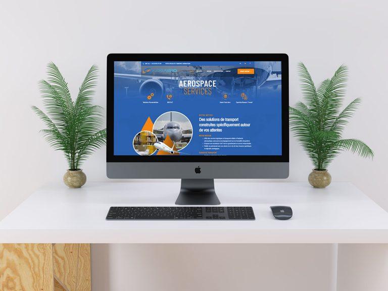 Refonte du site Internet pour Logaero Services