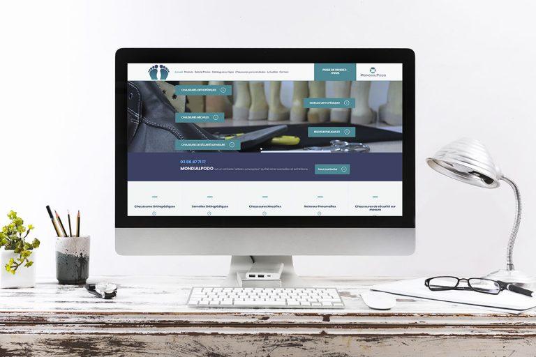 Création du site Internet Mondial Podo