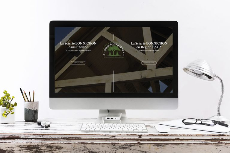 Création du site internet de la Scierie Bonnichon