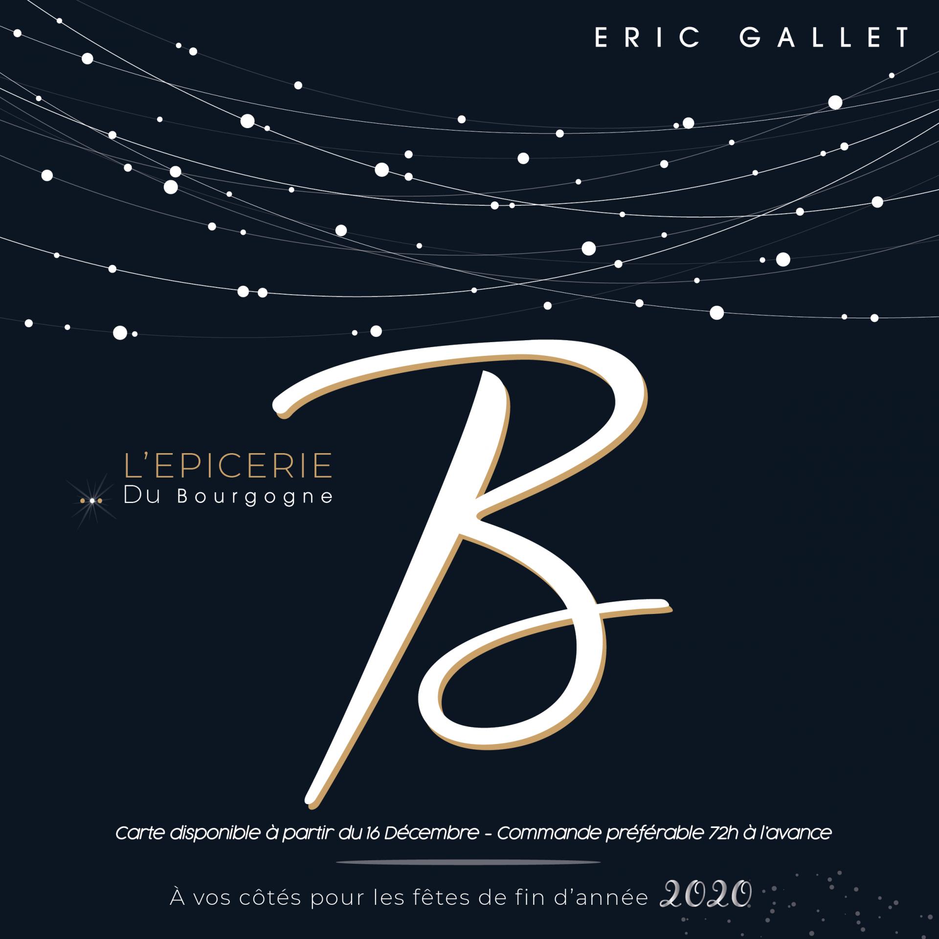 Plaquette des fêtes Epicerie du Bourgogne