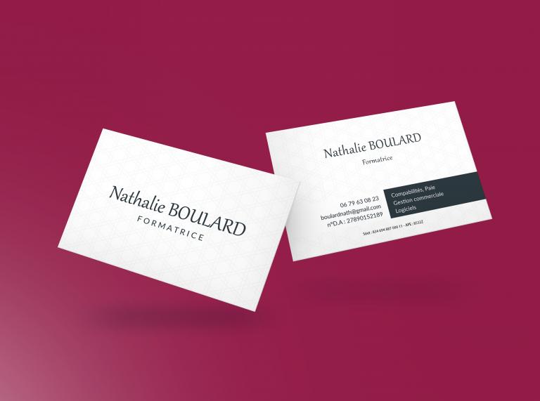Cartes de visite – Nathalie Boulard