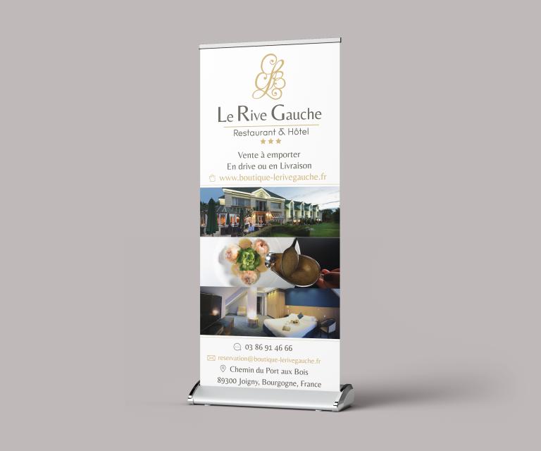 Roll up – Hôtel restaurant Le Rive Gauche