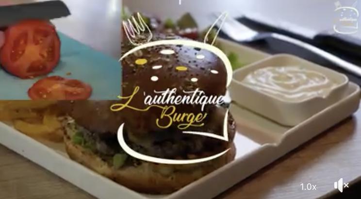Projet Vidéo Restaurant Authentique Burger