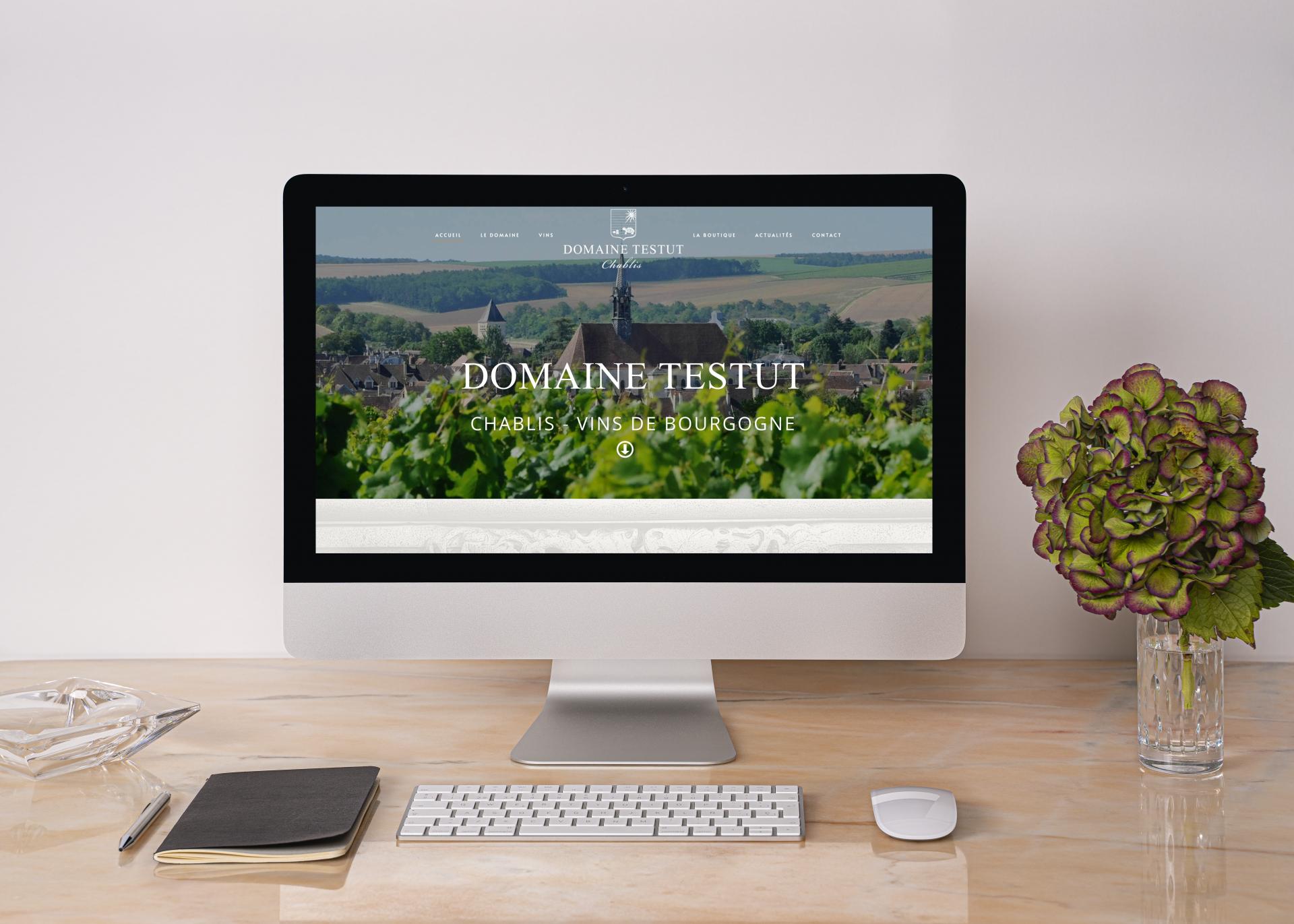 Création Site Internet E-commerce Domaine Testut