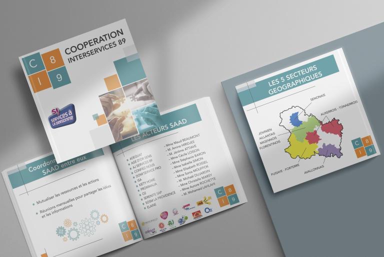 Création d'une brochure numérique pour CI89