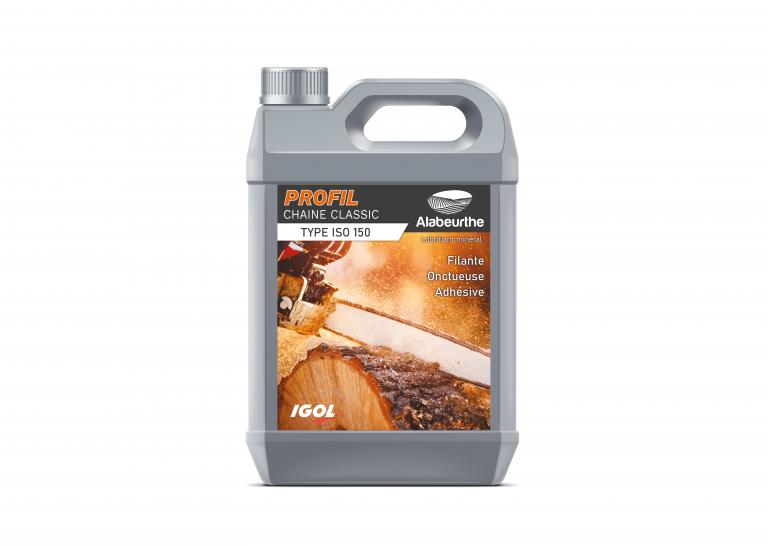 Etiquette pour bidon d'huile IGOL – ALABEURTHE