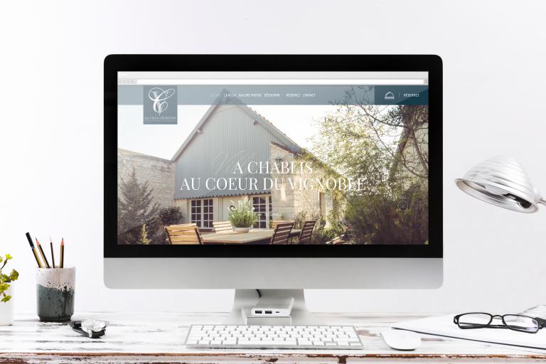 Création du site internet de la Villa Célestine