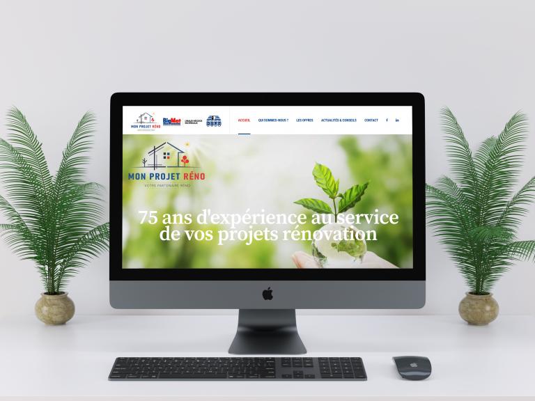 Création du site internet de Mon Projet Réno
