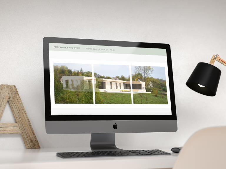 Création du site internet Pierre Grange