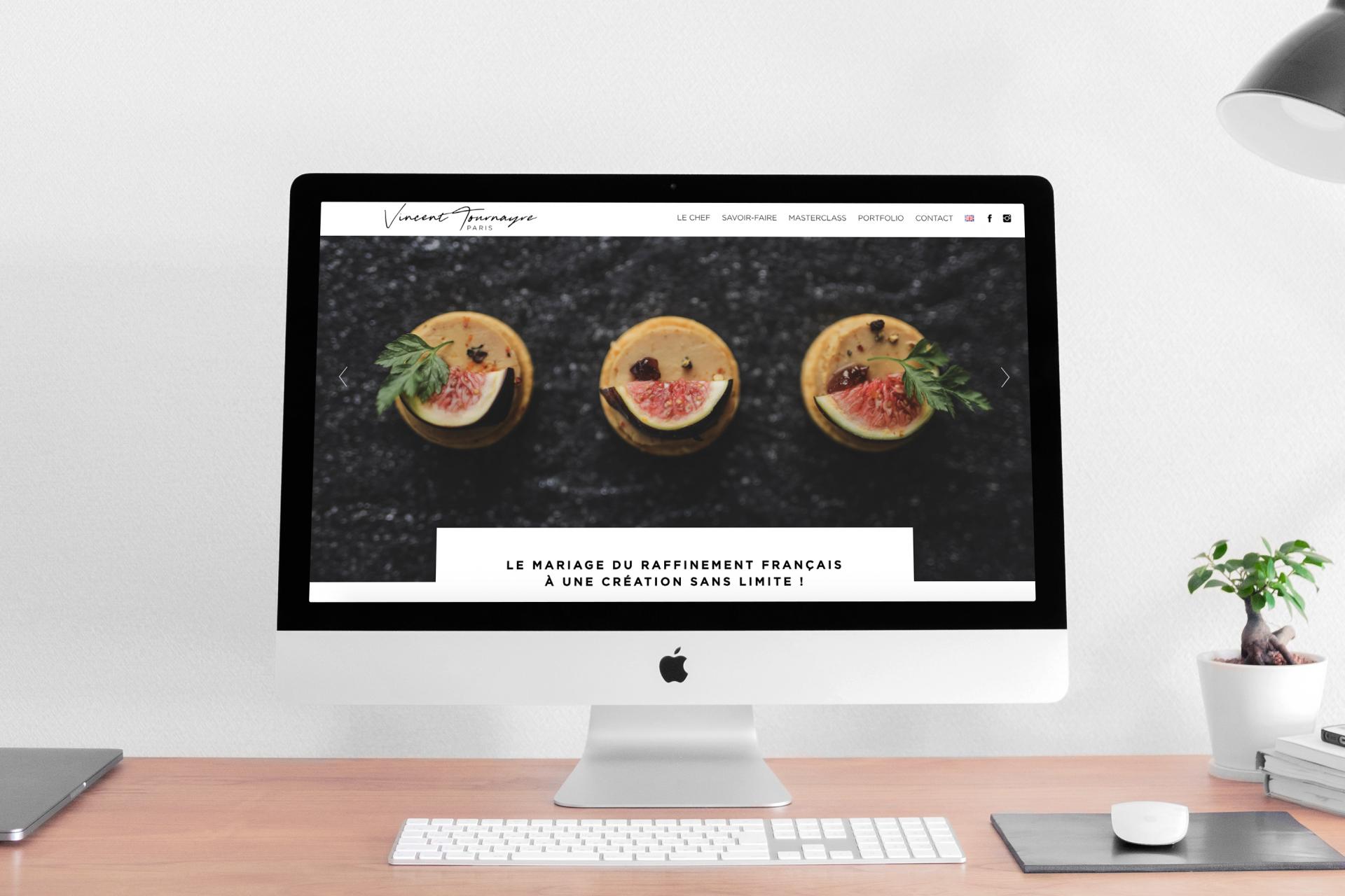 Création du site internet de Vincent Tournayre