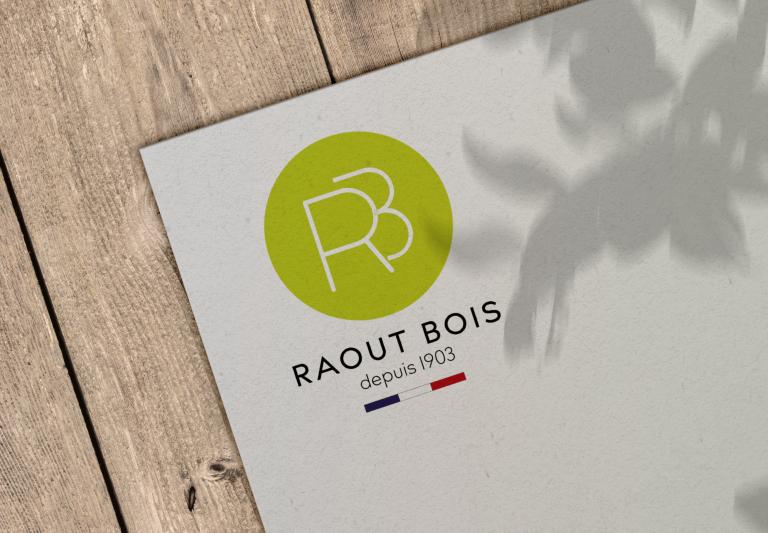 Création du Logo Raout Bois