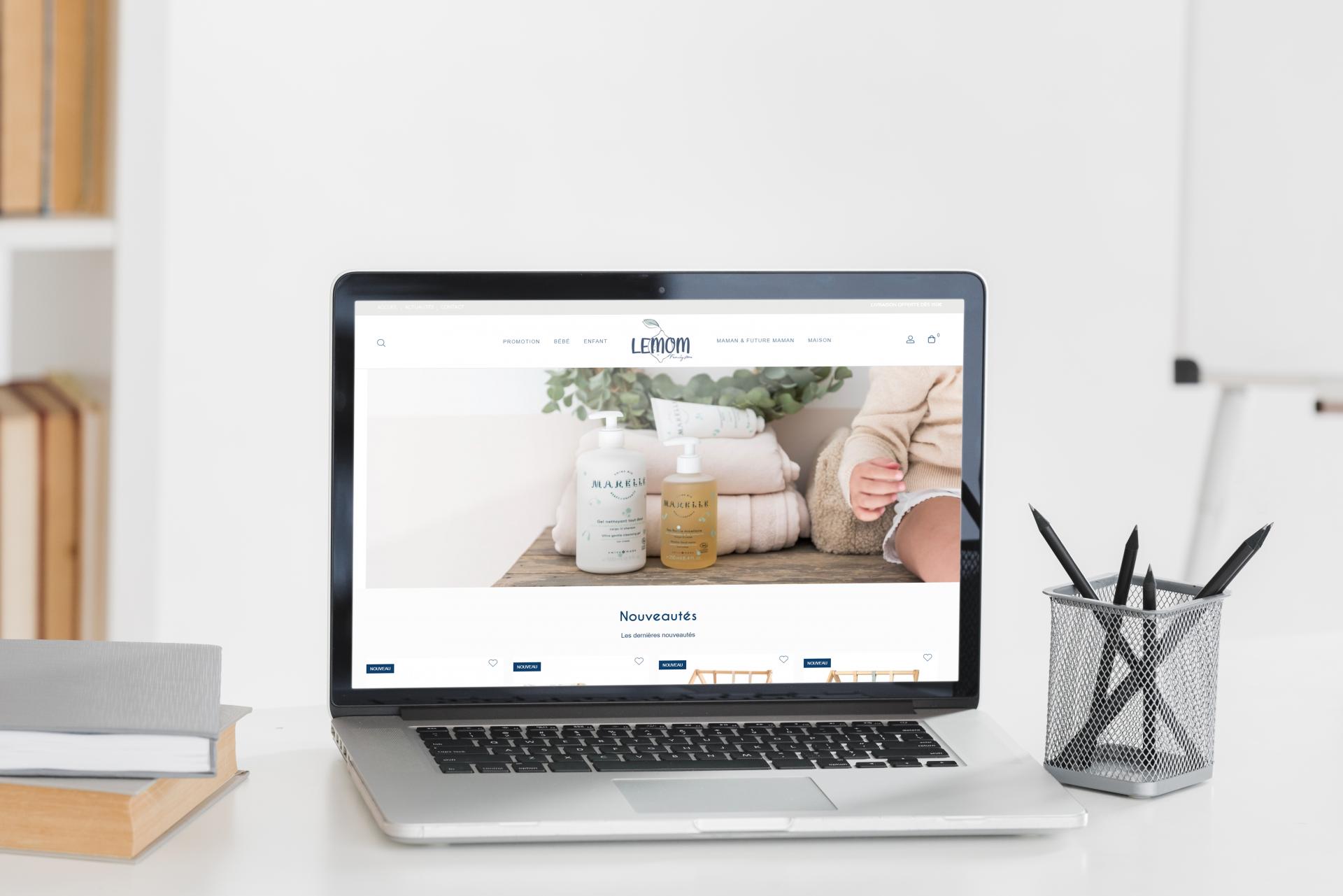 Création du site internet de LEMOM