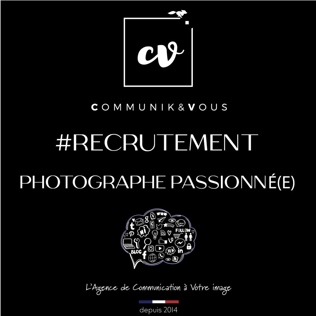 Recrutement Photographe