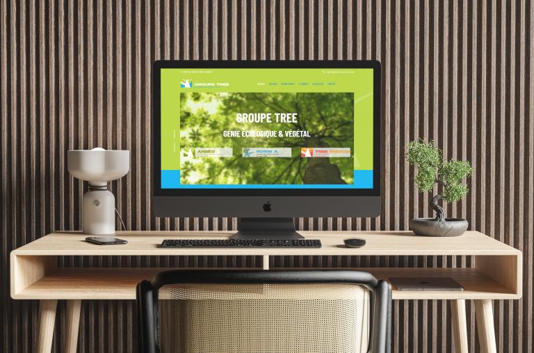Création du site internet de Groupe TREE